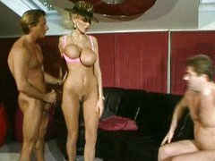 Dolly Buster and 2 guys