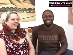 Black Fellow Finds Amazing Bbw Overweight A-hole And Fucks Part 1