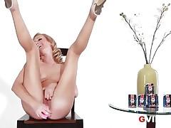 Sexy G Vibe Interview Sexy Blond Pornstar Brett Rossi