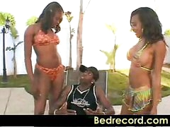 Large Ass Pool Party Lacey DuValle and Nyeema Knoxxx part 1