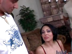 Victoria receives blindfolded and handcuffed