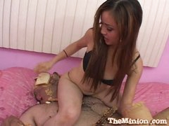 Sweet asian babe can't live without fucking sweet dicks
