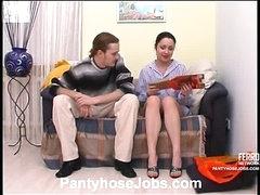 Rosa&Mike kinky hose scene