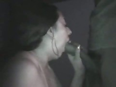 Amateur pair taping their sex on camera in a pure dark room. This babe sucks, licks, jerks and squeezes her husband's knob as this babe awaits her sweet and sticky spunk flow