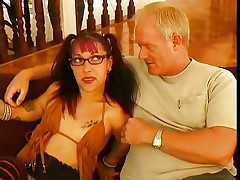 As they say large things come in small packages and this small woman is indeed packing a punch. She is just about to knock out this large guy with her charm, allure and her mouth. U can see that he is already moaning and this babe is hardly getting started with him, as this babe is giving an incredible blowjob.
