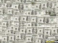 Money Talks gives us some other interesting episode about pretty hotties that are in need of some serious cash. Those bitches are ready to do anything they are asked as long as the amount of specie is right. Have a enjoyment watching that hot chick with long dark hair fucked from behind by a sex machine? Then stay tuned!
