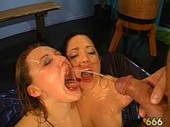 Breathtaking darling gives wet fellatio with astonishing dutch fuck