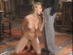 Marvelous European girl has hot anal sex