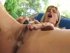 Captivating Darryl Hanah squirts pussy juice