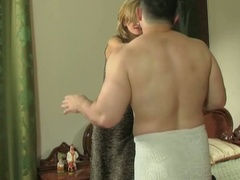 Cheating european boyfriend acquires breasty with pants in his pocket