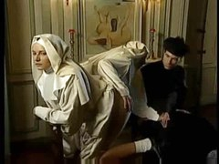 Kinky scene with nuns fisting fantastically